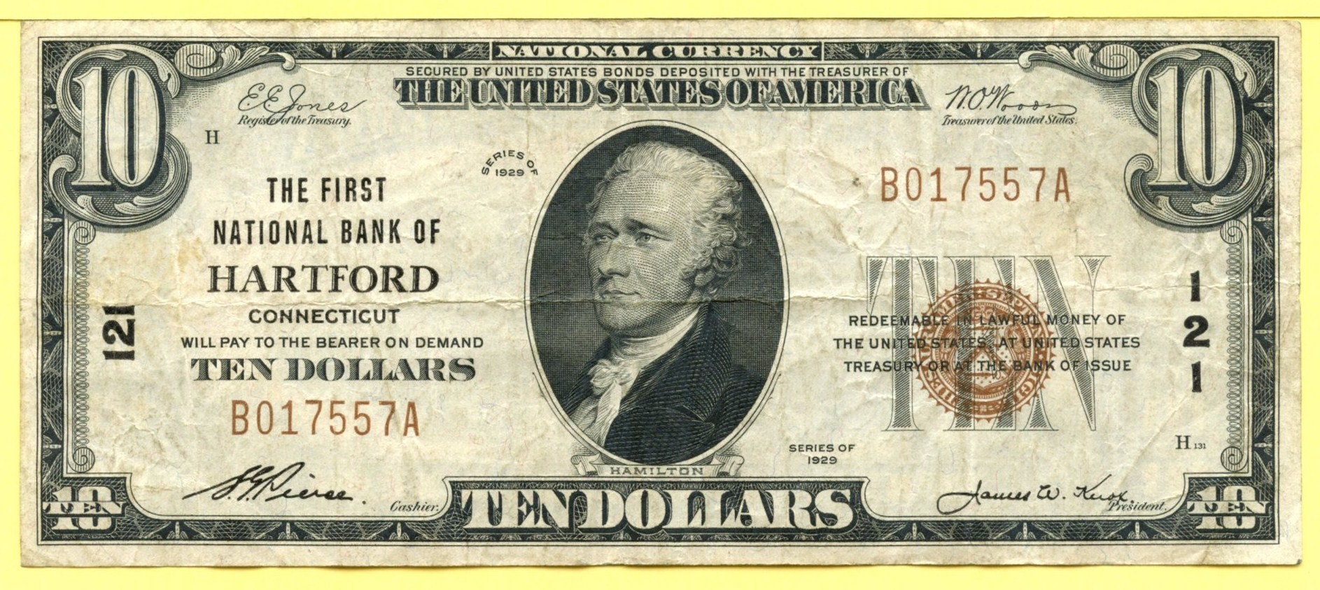 National Currency: Connecticut