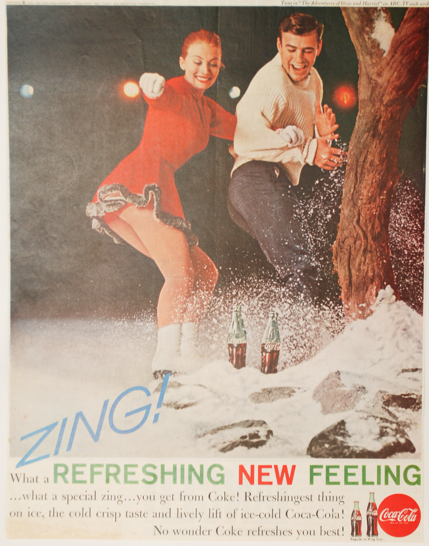 Other Collectibles: Paper Items: Beverage Advertisements